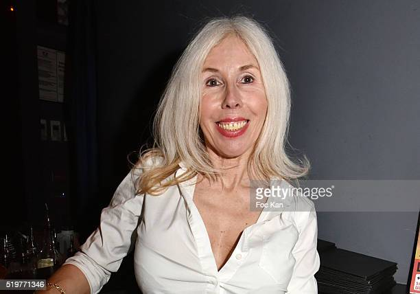 Veronique Koch attends 'Guitar Tribute' by Golden disc awarded Jean Pierre Danel at Hotel Burgundy on April 7 2015 in Paris France