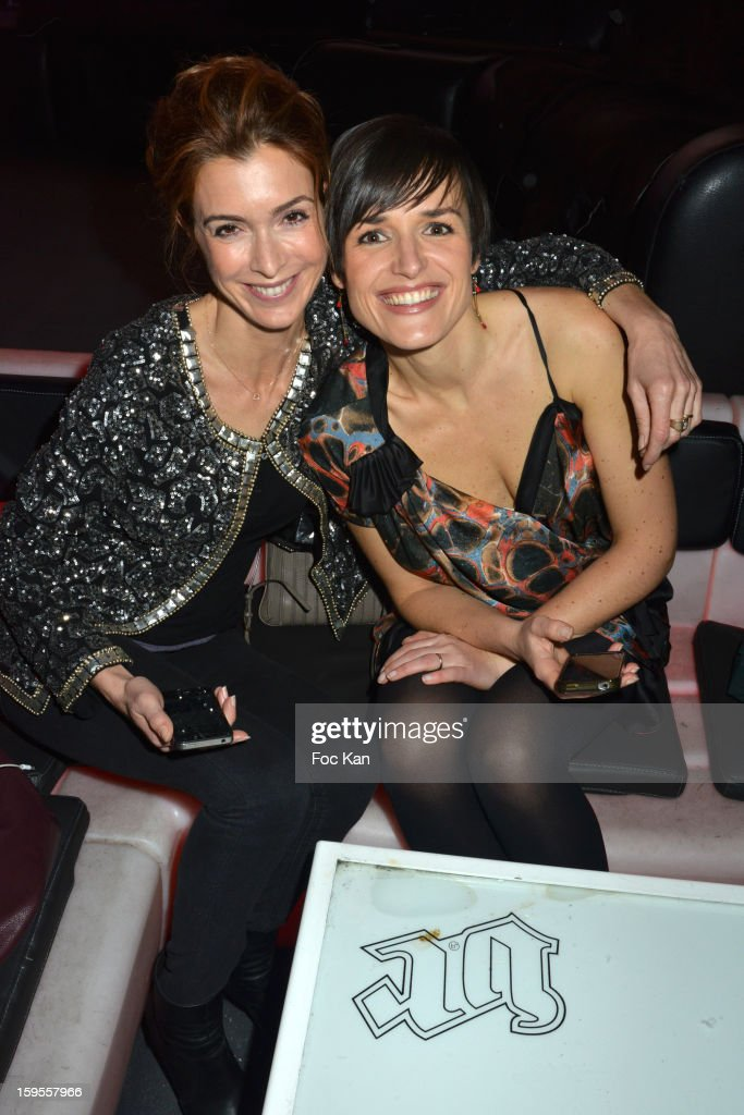 Veronique Mounier and Julienne Bertaux attend the Cherie 25 NRJ Party at VIP Room Theater on January 15, 2013 in Paris, France.