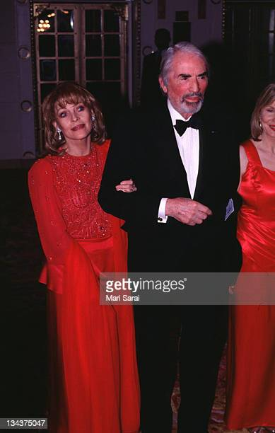 Veronique Peck and Gregory Peck during 1996 Red Ball at Plaza Hotel in New York City New York United States