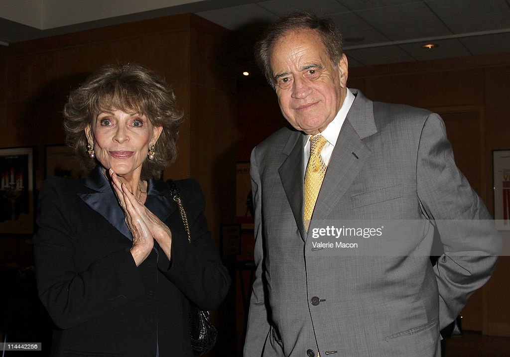 Veronique Peck (L) and producer Arthur Cohn (R)attend the The Academy Of Motion Picture Arts And Sciences Premiere Of The Restored 'The Garden Of The Finzi-Continis' on May 19, 2011 in Beverly Hills, California.
