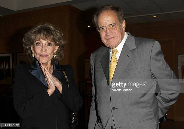 """Veronique Peck and producer Arthur Cohn attend the The Academy Of Motion Picture Arts And Sciences Premiere Of The Restored """"The Garden Of The..."""