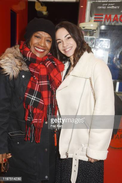 Veronique Rouveyrollis and director Alexandra Naoum attend the Lavande screening at Mac Mahon Cinema on January 04 2020 in Paris France