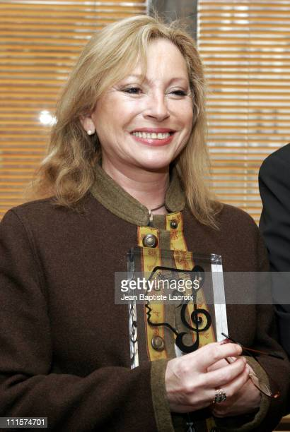 Veronique Sanson during 2005 UNAC Grand Prize at Sacem in Paris France