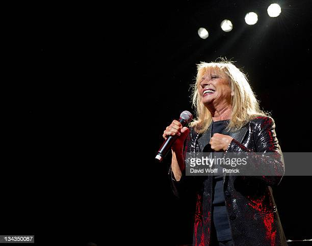 Veronique Sanson performs at Le Grand Rex on May 14 2011 in Paris France