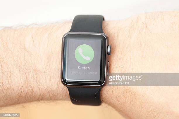 Verpasster Anruf auf Apple Smart Watch