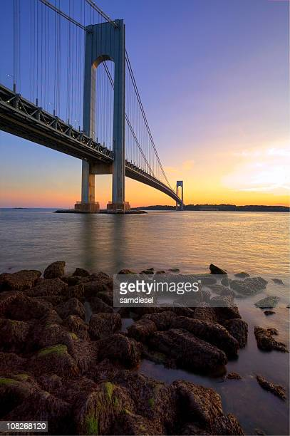 Verrazano Narrows Bridge HDR