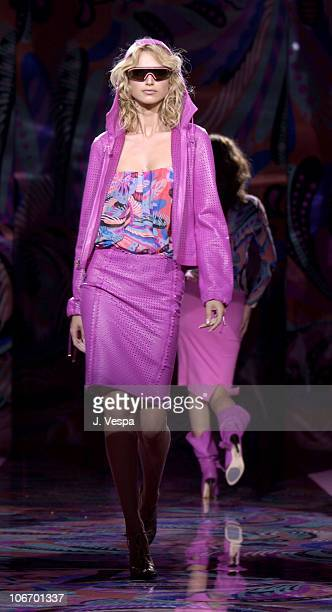 Versace Model during Versace Luncheon to Benefit Children's Action NetworkWestside Children's Center Sponsored By InStyle Magazine at Private Home in...