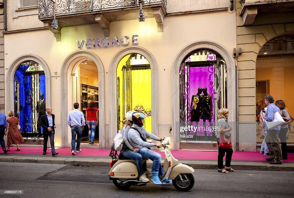 Versace Store - Milan, Italy : Stock Photo
