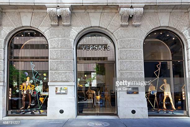 Versace store New York City