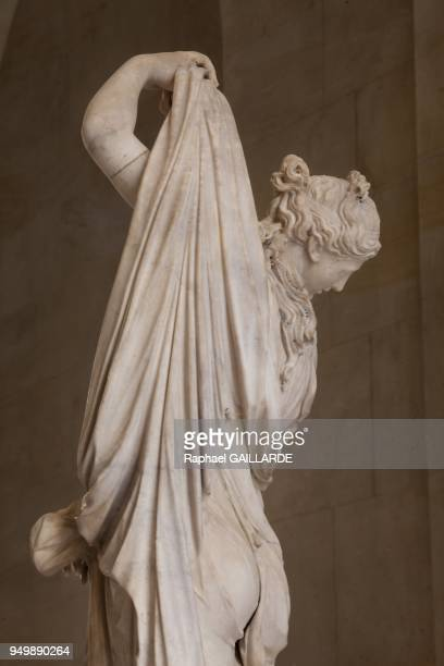 Versailles and the Classic ArtVenus Callipyge Farnese marble statue Jean Jacques Clerion 16841686 on November 12 2012 in Versailles France