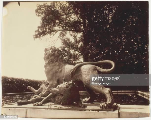 Versailles, Fontaine de Diane , 1901. A work made of albumen print. Artist Eugene Atget.