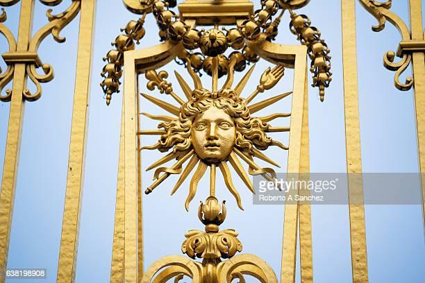 Versailles gold ornaments
