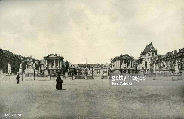 Versailles', . The palace of Versailles in France: 'From September 1870 till the conclusion of peace in 1871, Versailles was the Headquarters of the...