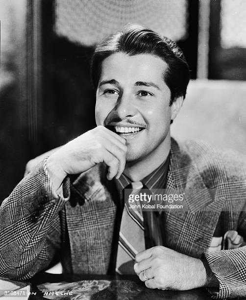 Versatile American film television and radio actor Don Ameche