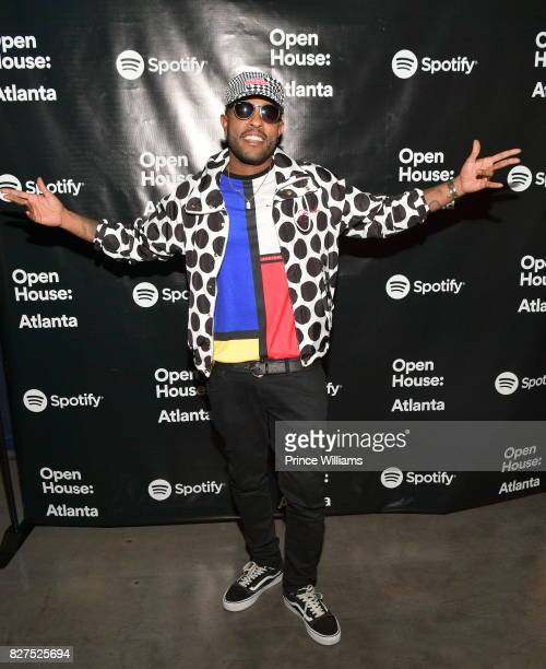Verse Simmonds attends the Spotify Open House Mixer at The Gathering Spot on August 7 2017 in Atlanta Georgia