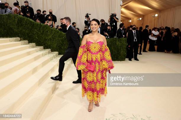 Versha Sharma attends The 2021 Met Gala Celebrating In America: A Lexicon Of Fashion at Metropolitan Museum of Art on September 13, 2021 in New York...