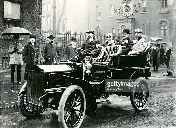 Version of the steam-powered cars that were offered for sale to the public by the White Motor Company. In early 1900, Rollin H. White persuaded his...