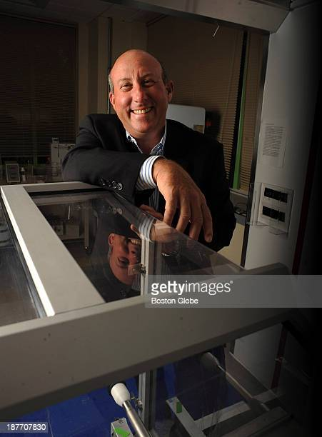 Vertex CEO Jeffrey Leiden was photographed on September 10 2013 at the company's Cambridge headquarters The company will be moving to Boston in the...