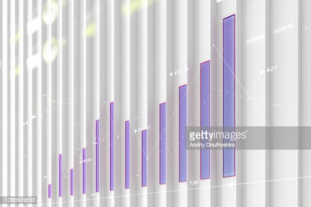 vertical bar graph - show business stock-fotos und bilder