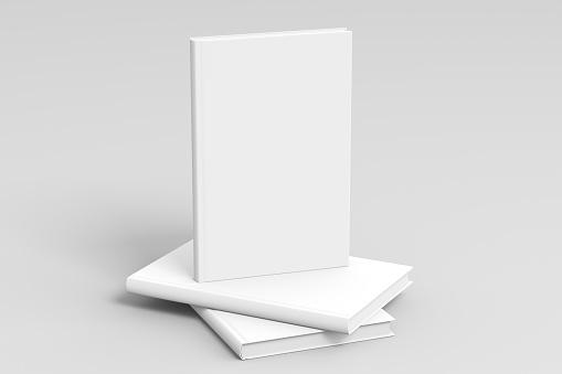 Vertical blank book cover mockup 1031399008