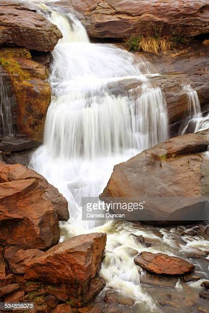 vertical falls - greenville south carolina stock photos and pictures