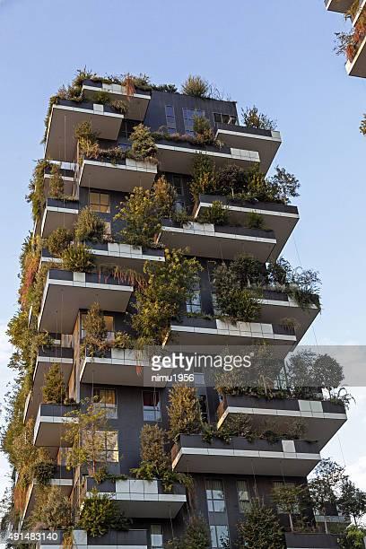 Vertical Forest immeuble («Bosco voie). Milan.