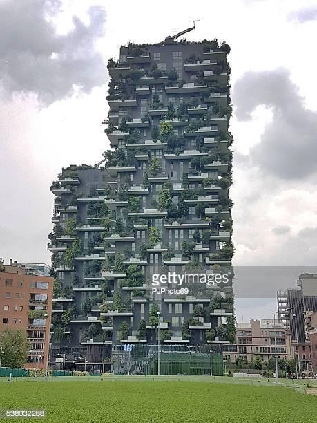 Vertikale Wald Gebäude in Mailand, Italien