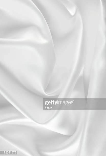 ホワイトのサテン