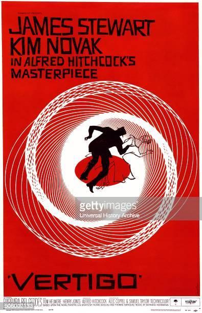 Vertigo a 1958 psychological thriller film starring James Stewart and Kim Novak