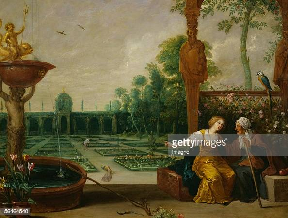 vertumnus and pomona roman god of seasons and the