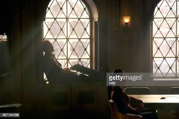 "Verum Nocet"" Episode 210 -- Pictured: Clive Standen as Bryan Mills, Jessica Camacho as Santana --"