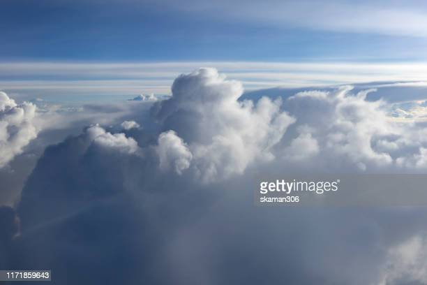 very clear and dramatic sky and cloudy - cumulus stock pictures, royalty-free photos & images
