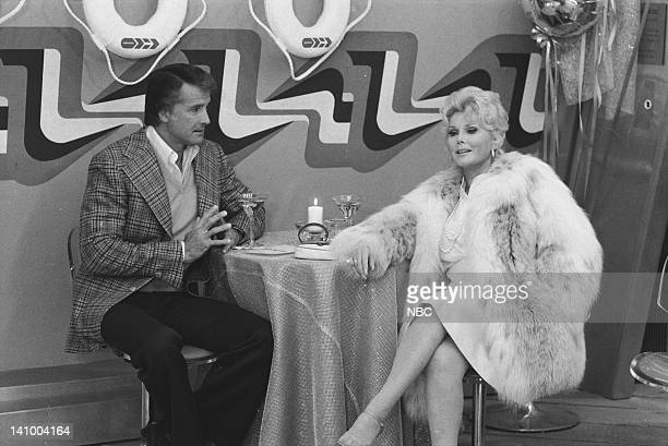 SUPERTRAIN 'A Very Formal Heist' Episode 6 Aired 4/14/79 Pictured Lyle Waggoner as Peter Sebastian Zsa Zsa Gabor as Audrey Photo by Ron Tom/NBCU...