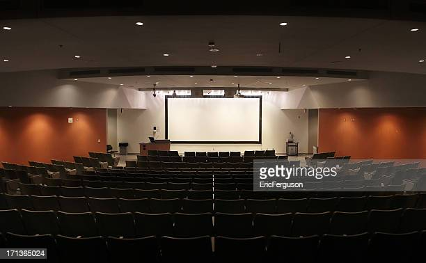 Very Large Modern University Lecture Hall