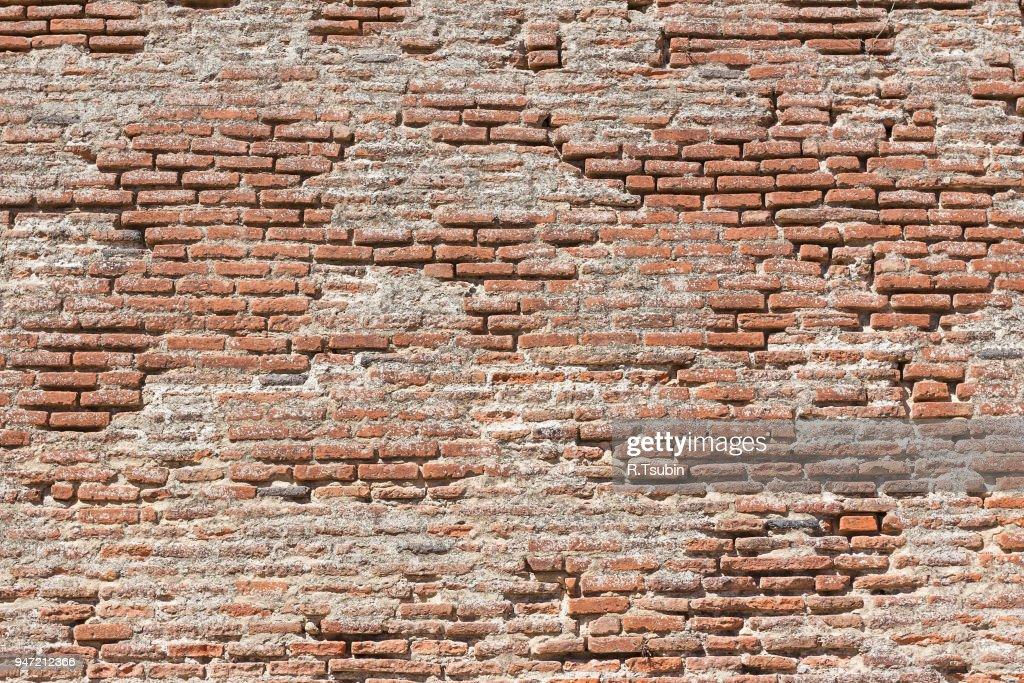 Very old brick wall texture : Foto de stock