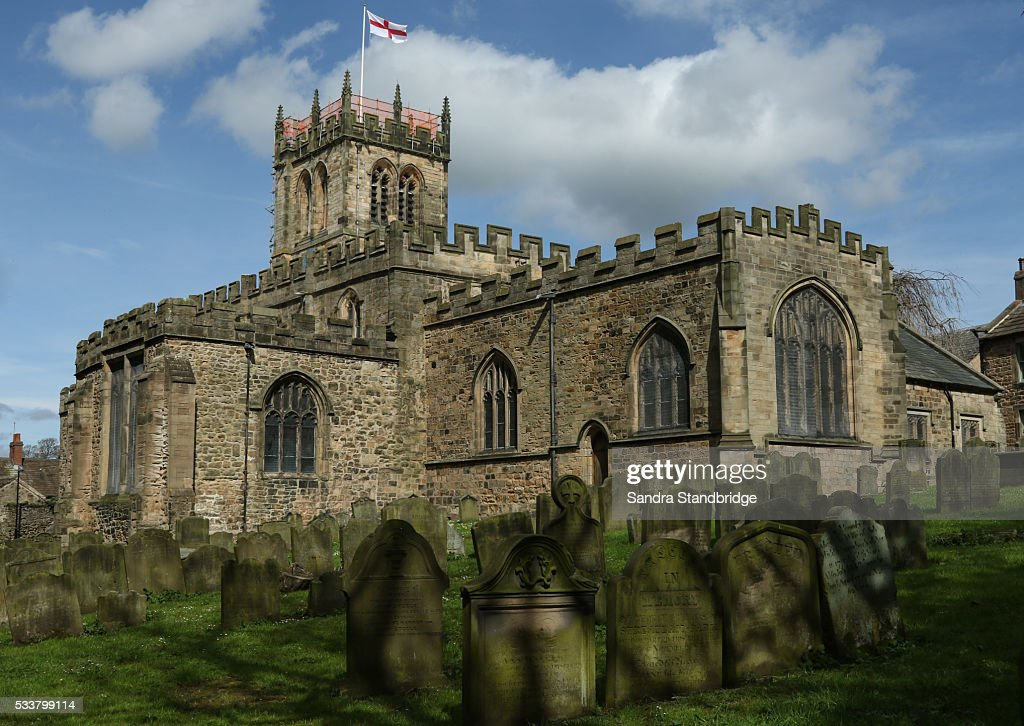 A  very old church situated in the town of Barnard Castle, Teesdale, County Durham, England. . : Foto stock