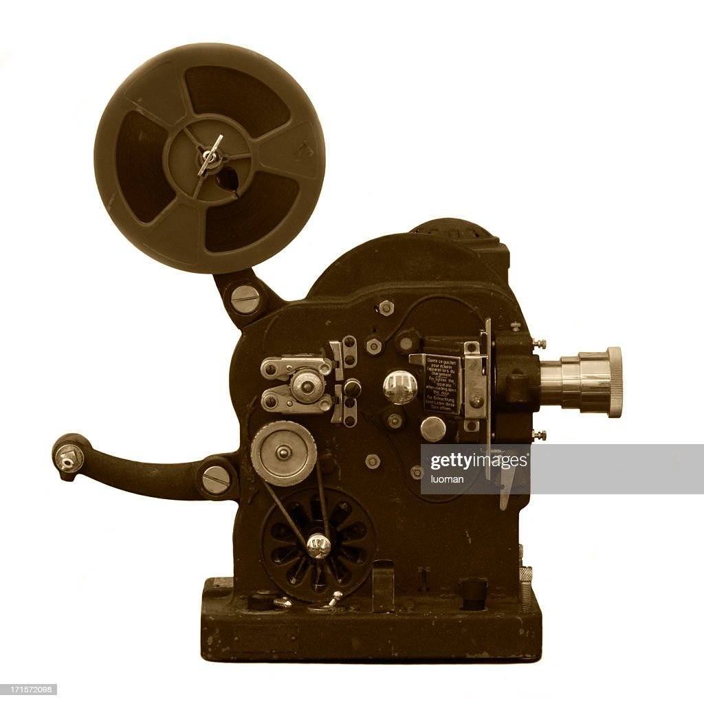 Very old super 8 projector : Stock Photo