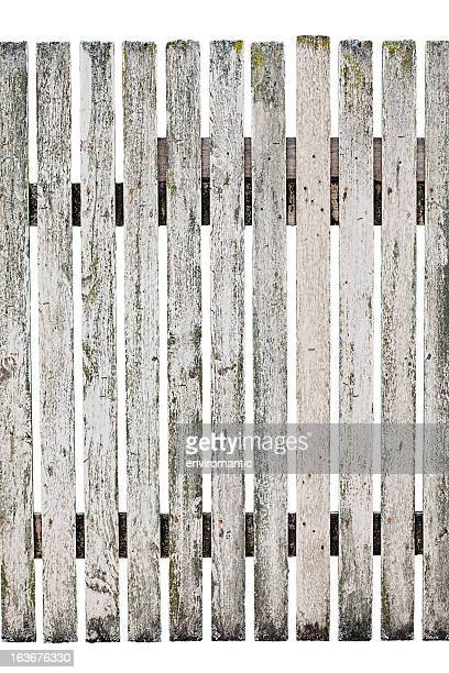 very old wood picket fence. - picket stock pictures, royalty-free photos & images