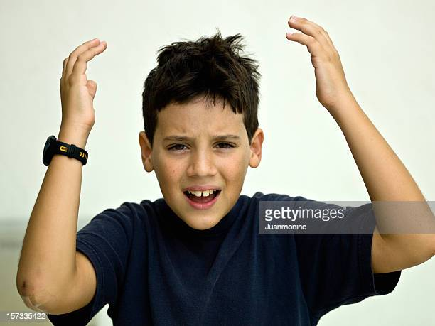 very upset child - complaining stock photos and pictures