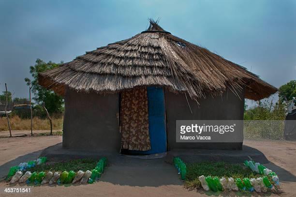 A very well kept hut