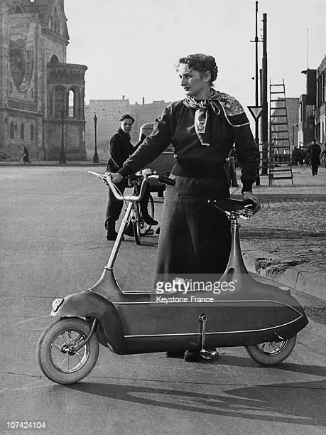 Vespa Bike In Berlin