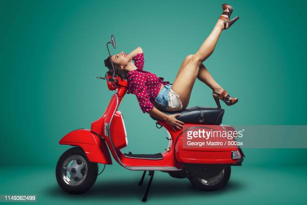 Vespa Stock Pictures Royalty Free Photos Images Getty Images