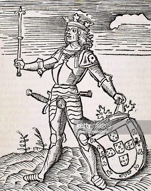 Vespucci Amerigo Italian navigator explorer and cartographer Engraving