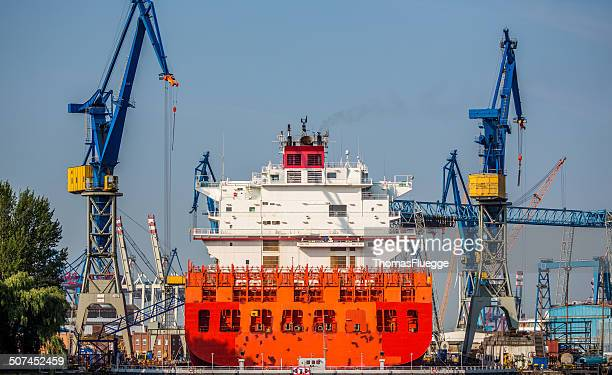 Navire en Drydock