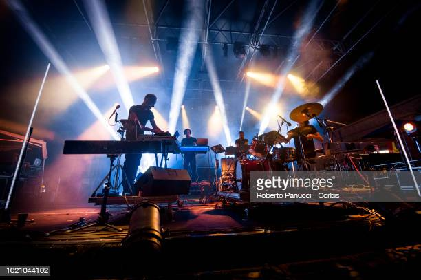 Vessel perform on stage during Ypsigrock Festival on August 10 2018 in Castelbuono Palermo Italy