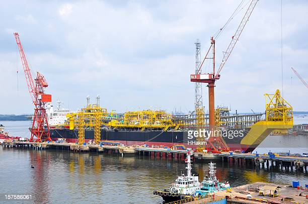 FPSO vessel (Floating Production, Storage and Offloading)
