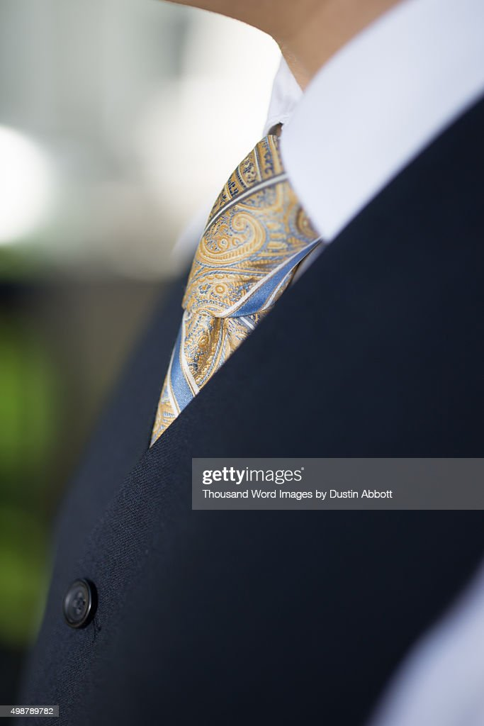 Vest and Tie : Stock Photo