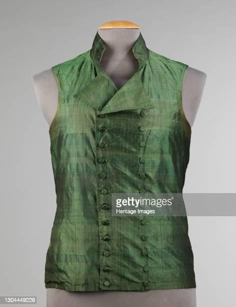 Vest, probably British, 1810-19. Artist Unknown.