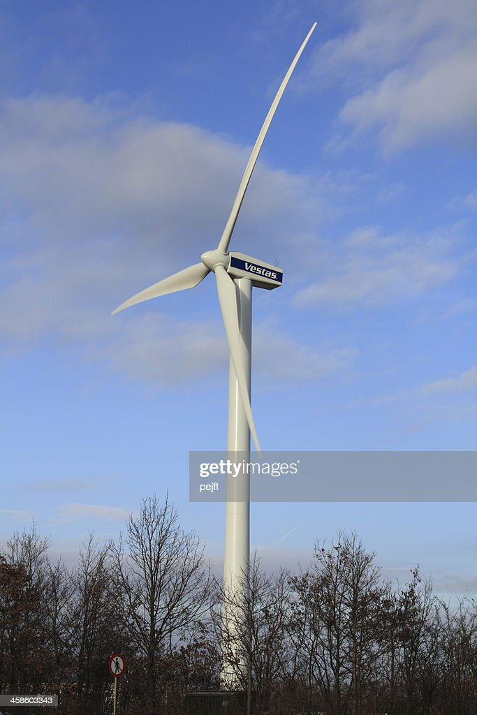Vestas wind turbine : Stock Photo