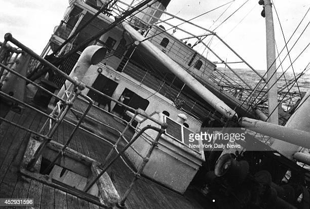 SS Vestris steamship sinking some 200 miles off Hampton Roads Virginia